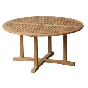 Teak Pedestal Tables